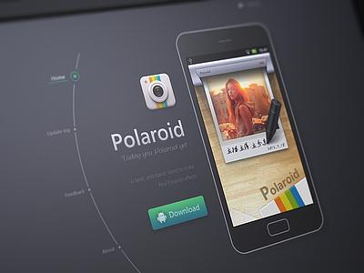 Polaroid icon ui mvben web