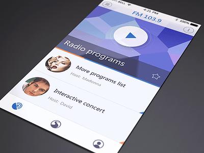 Traffic Radio mvben app ui icon iphone