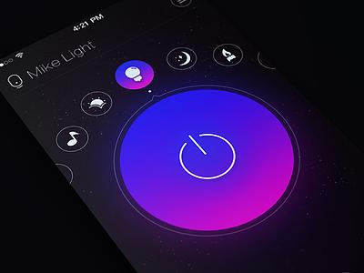 Mike Light app ui mvben icon light
