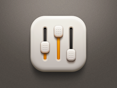 Settings iphone app ui mvben china icon