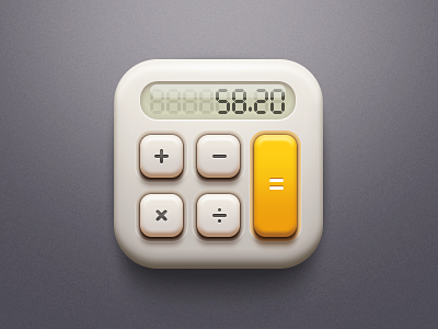 Calculator iphone app ui mvben china icon themes