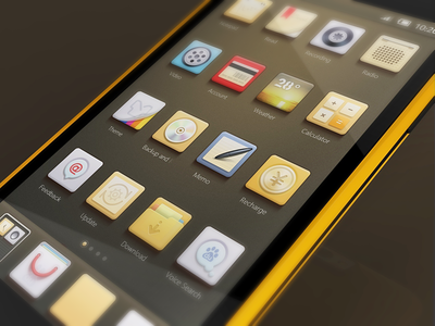 Icon Theme iphone app ui mvben china icon themes