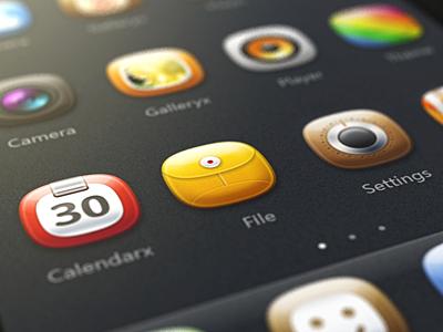 Fatty iphone app ui mvben china icon themes iphone pianfen pianfen
