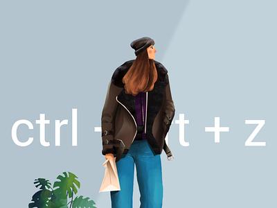 Fashion Secrets art character wacom photoshop illustration