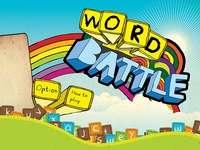WORD BATTLE game title Screen