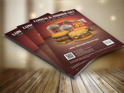 Food  Flyers Design