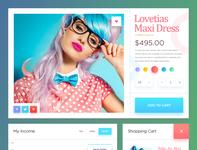 UI Kit For Lovetias