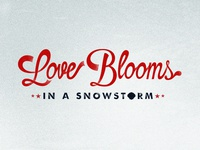 Love Blooms Lettering