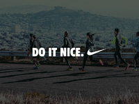 Nice do it nike