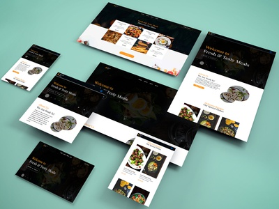 Cheese Cafe Restaurant Landing Page