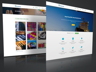 Business Corporate Bootstrap Template