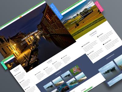 Travel Tourism Responsive Web Template