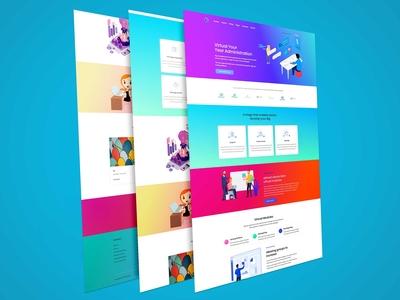 Big Digital Business Agency Html Template