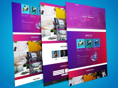 Awesome Business Profile Template