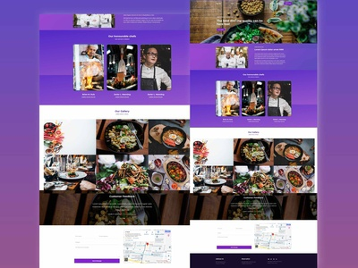 Cafe Hat Restaurant Food Template