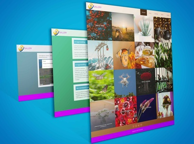Oliver Photo Gallery Bootstrap Template