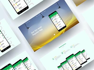 Popular App Landing Page interaction design inspiration all respontive template theme website web ux ui product loading interface illustration design business bootstrap animation theme picks themepicks