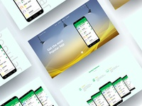 Popular App Landing Page