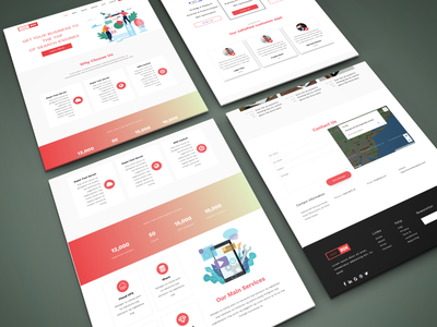 SASS  Bootstrap Technology Template interaction design inspiration bootstrap all respontive animation template theme website web ux ui product loading interface design illustration themepicks business theme picks