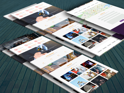 Agent Responsive Template interaction design inspiration bootstrap all respontive animation template theme business website web ux ui product loading interface illustration design theme picks themepicks