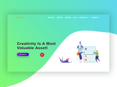 Flooop SASS Bootstrap Template business bootstrap all theme picks themepicks website web vector logo design illustration graphic design flat clean branding art app animation ux ui design