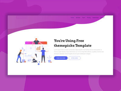 OnPoint Update Bootstrap Template business bootstrap all theme picks themepicks website web vector logo design illustration graphic design flat clean branding art app animation ux ui design