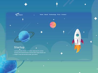Orbit Startup Bootstrap Template