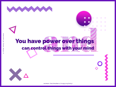 Some inspiration violet graphic art creative motivation