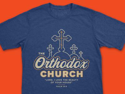Vintage/Retro Orthodox Church Shirt
