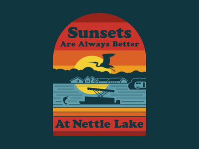 Sunsets Are Always Better At Nettle Lake