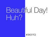 Color Palette #2 - Deep Blue