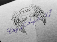 City Of Angels Logo Design