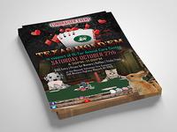 Texas Holdem Fundraiser Fliers For Animal Shelter
