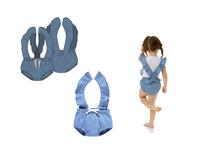 Girls Denim Romper Design
