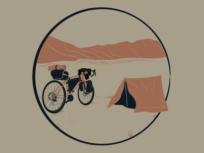 WIP Bikepacking TShirt