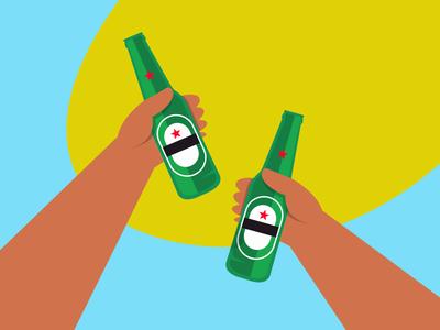 Fria.js dominican shots cheer hand alcohol bebida cerveza manos hands fun javascript beer