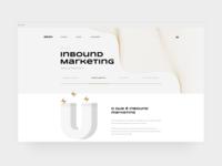 GRAN Website illustration typography portfolio logo design interface web site ux ui
