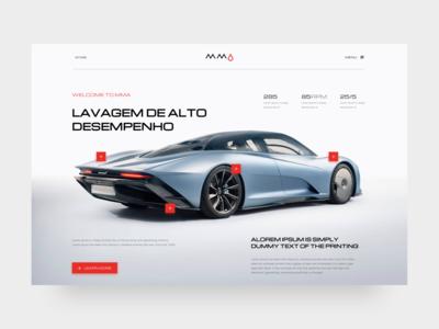 mma website concept