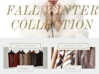 Labelle / Fashion UI Design