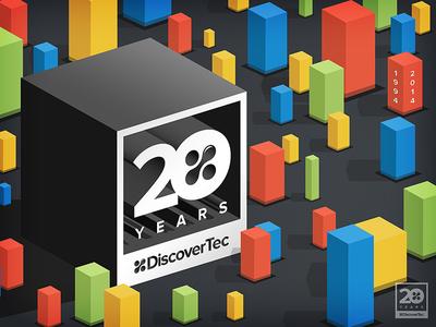 20th anniversary logo & poster art