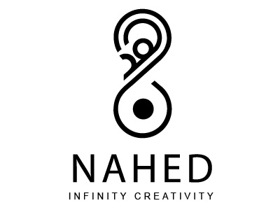 Nahed Ifinity Creativity Personal Logo Design 0 adobe illustrator inspiring logo islamic typography arabic logo identity creativity logo