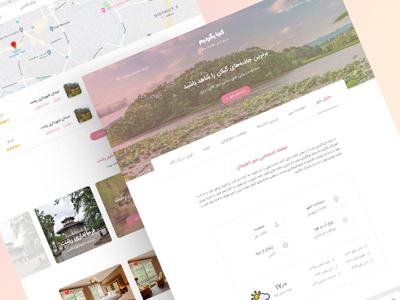 Travel Landing Page ui design landing page traveling travel agency travel website travel blog landing web ui web site web design ux ui