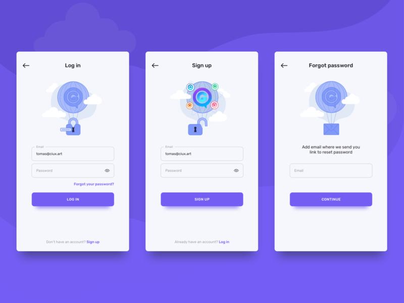 OnGraviti - Multi-Purpose Social App by Matej Bosina for