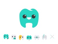 Happy tooth - Dentist Logo & Icon pack