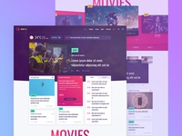 News Portal & TV channel Website Design