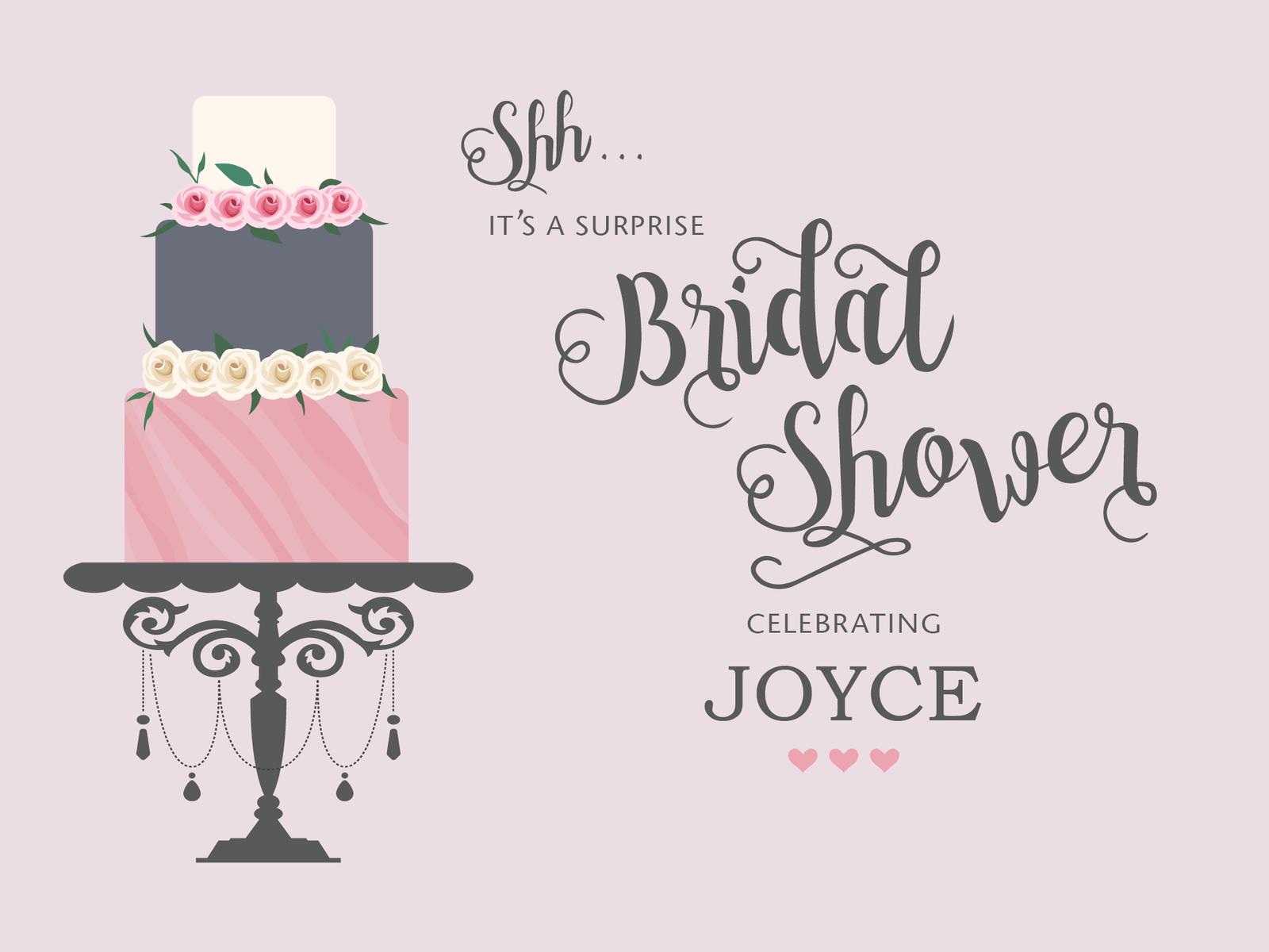 Bridal Shower Invite by Zenia Tsui-Ng - Dribbble