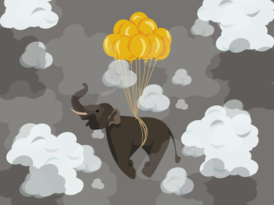 Flying Elefant