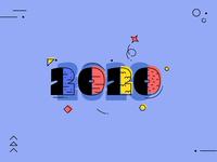2020 typeface digitalart design illustrator comic portrait 2d vector illustration