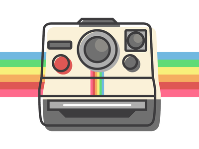Polaroid free icon