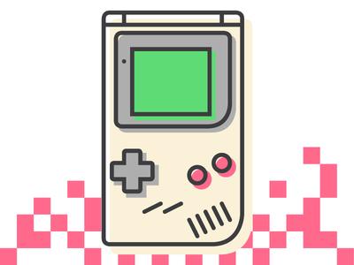 Gameboy free icon design